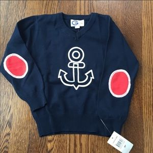 Other - NWT sweater with anchor